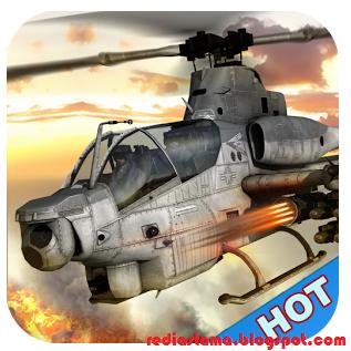 Gunship Helicopter Air battle Mod Apk v1.0