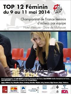 Sophie Milliet, tête d'affiche de ce Top 12 féminin d'échecs