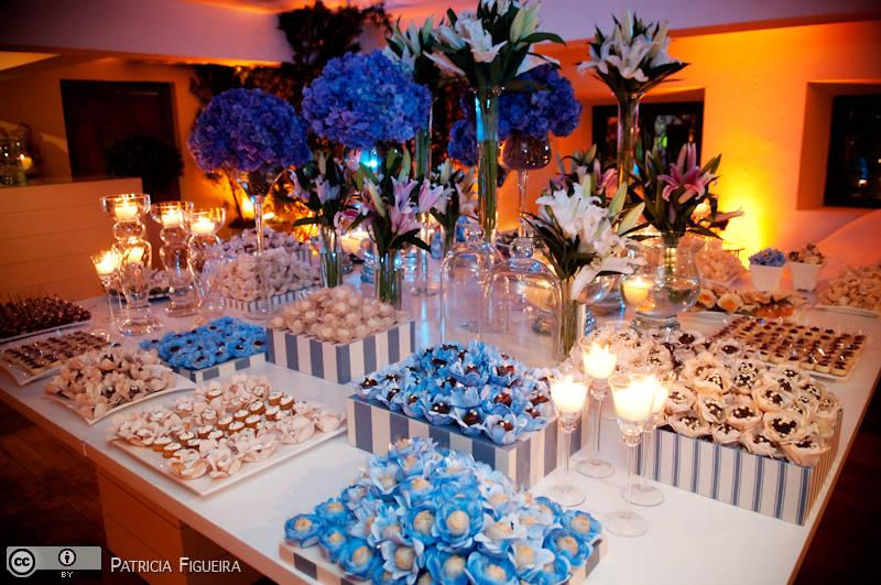 decoracao de casamento em azul e amarelo:Decoracao De Casamento Azul