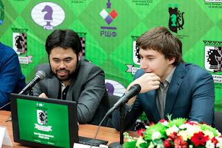 Grand Prix Khanty-Mansiysk. Nakamura - Karjakin