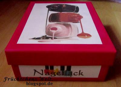 DIY Aufbewahrungs-Box - Fast fertig!