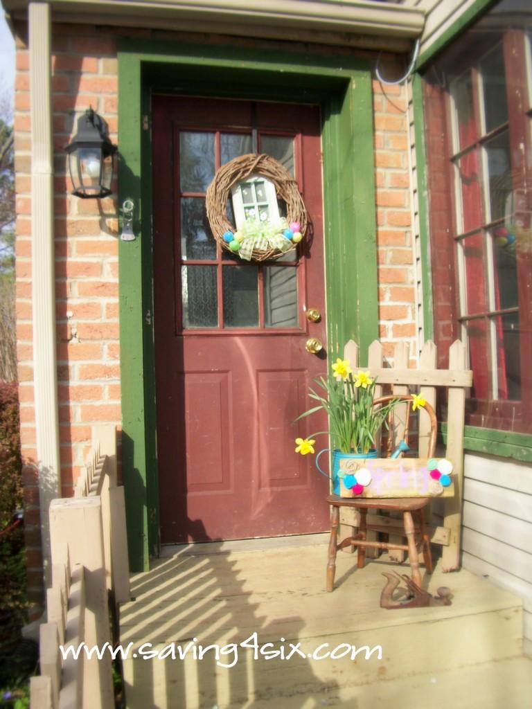 my spring porch