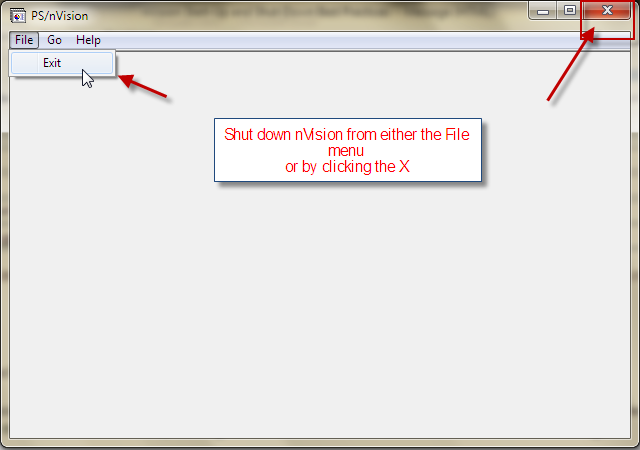 PeopleSoft nVision Issue Resolution nVision StartUp and Shut – Nvision Peoplesoft