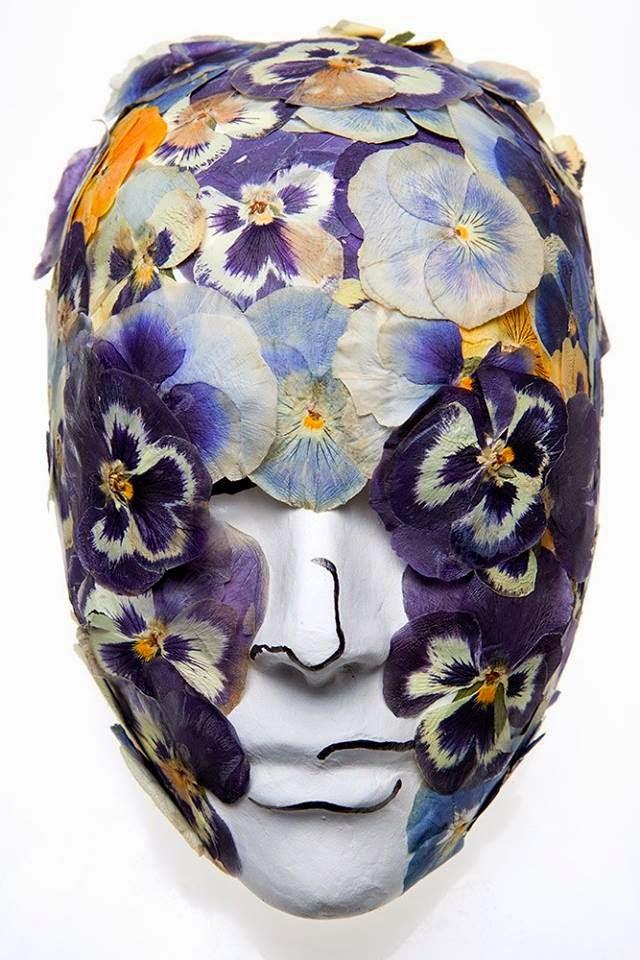 Mascara hecha por Miguel para Subasta Benèfica
