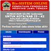 Cara Mengisi Bio-Sistem Online SD/MI Tahun Pelajaran 2014/2015 Jawa Tengah