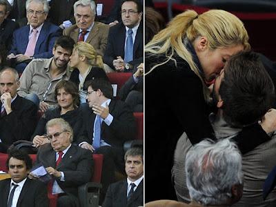 Fotos de Gerard Piqué e Shakira