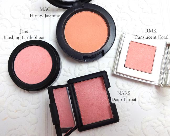 MAC Honey Jasmine comparison
