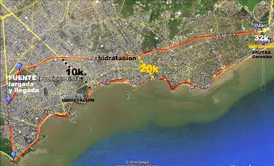 Fondo urbano de El Cantero (10k, 20k y 32k; Montevideo, 24/ago/2014)
