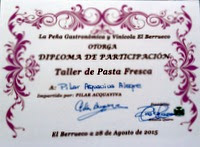 TALLER DE PASTA ARTESANAL