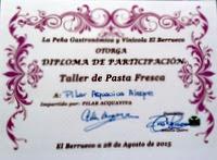 TALLER DE PASTA ARTESANAL