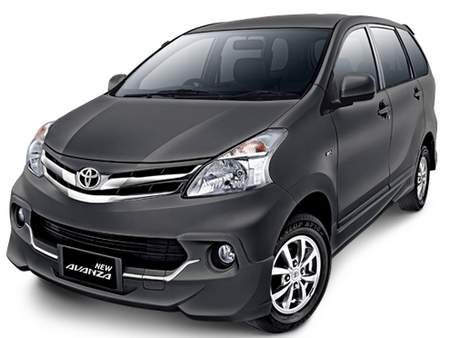 Toyota All New Avanza Dark Steel Mica