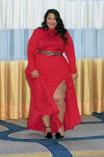 ¿Cómo vestir de rojo siendo gordita?