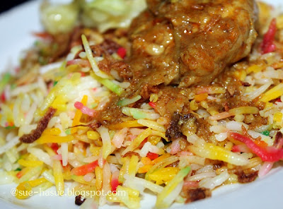 Resepi Nasi Minyak Hujan Panas 1st time guna beras PUSA