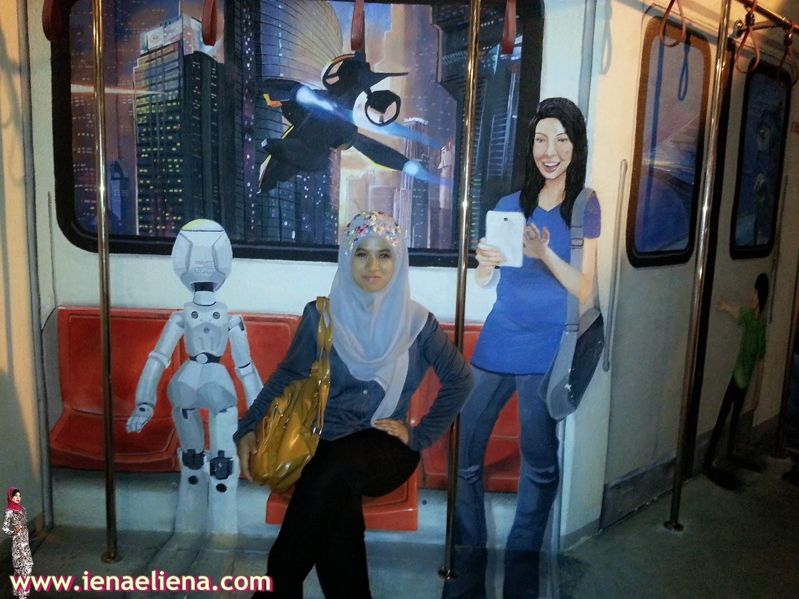 lukisan 3d malaysia