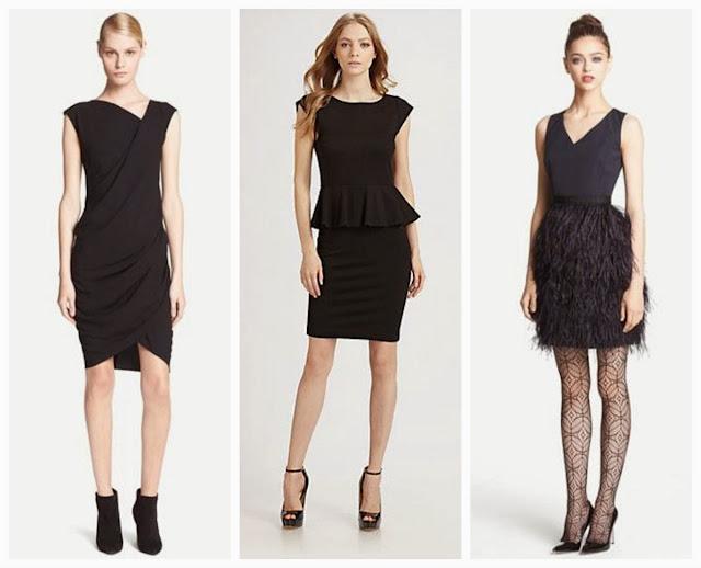 3 black dresses I like now