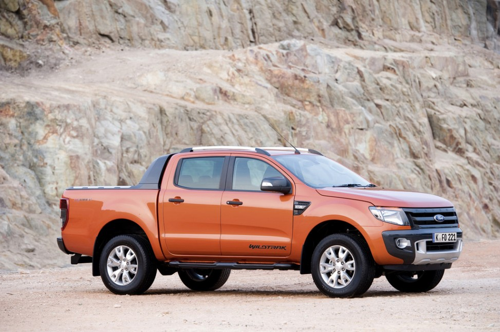 2013 Ford Ranger: Australian-American look from South Africa