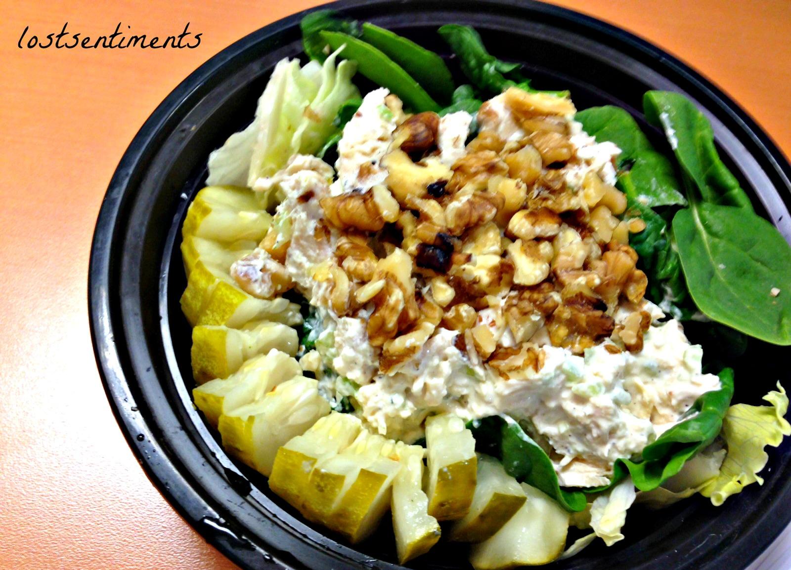 lostsentiments: Chicken Salad Salad Recipe