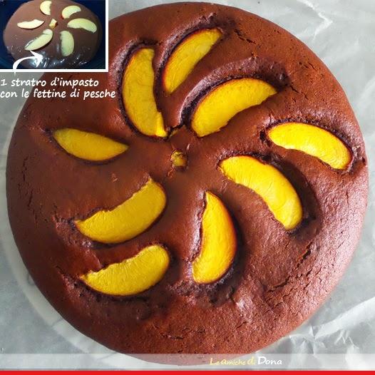 dolci per la colazione con mix farine, dolci svuota dispensa. torta al cacao cannella e pesche e torta al limone e fiocchi d'avena