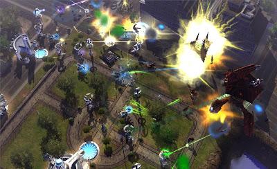 Universe at War: Earth Assault Screenshots 1