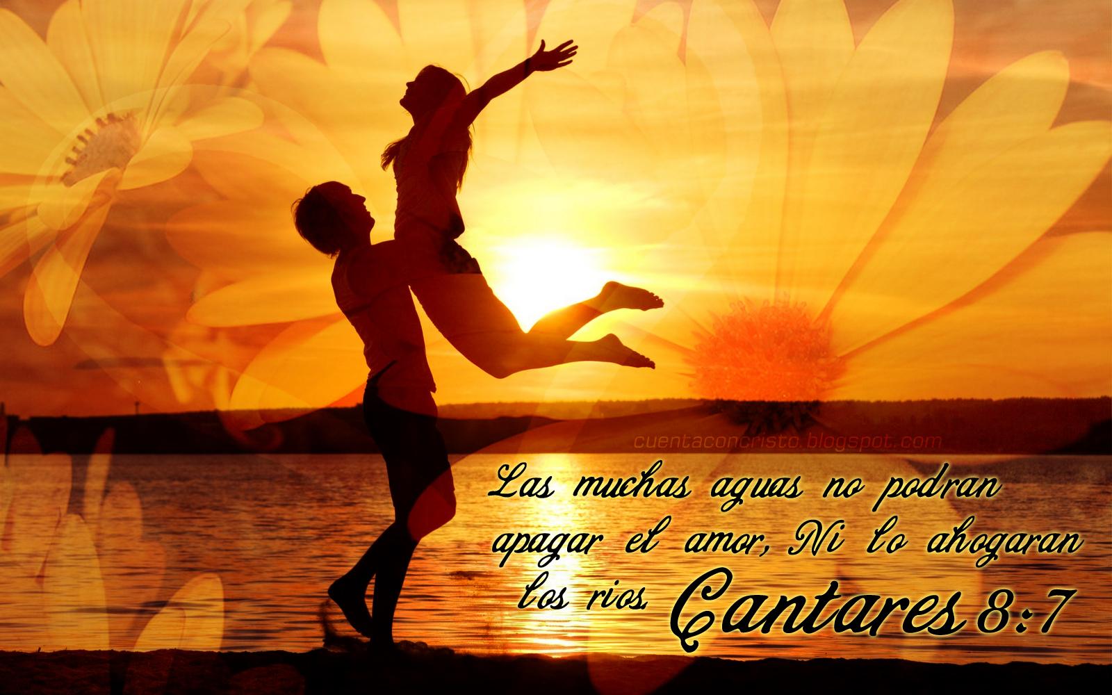 Las muchas aguas no podrán apagar el amor, ni lo ahogarán los ríos