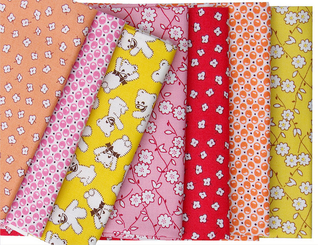 Favorite Storybook Playtime Fat Quarter Bundle - Windham Fabrics