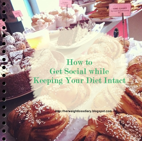 how to get social while keeping your diet intact