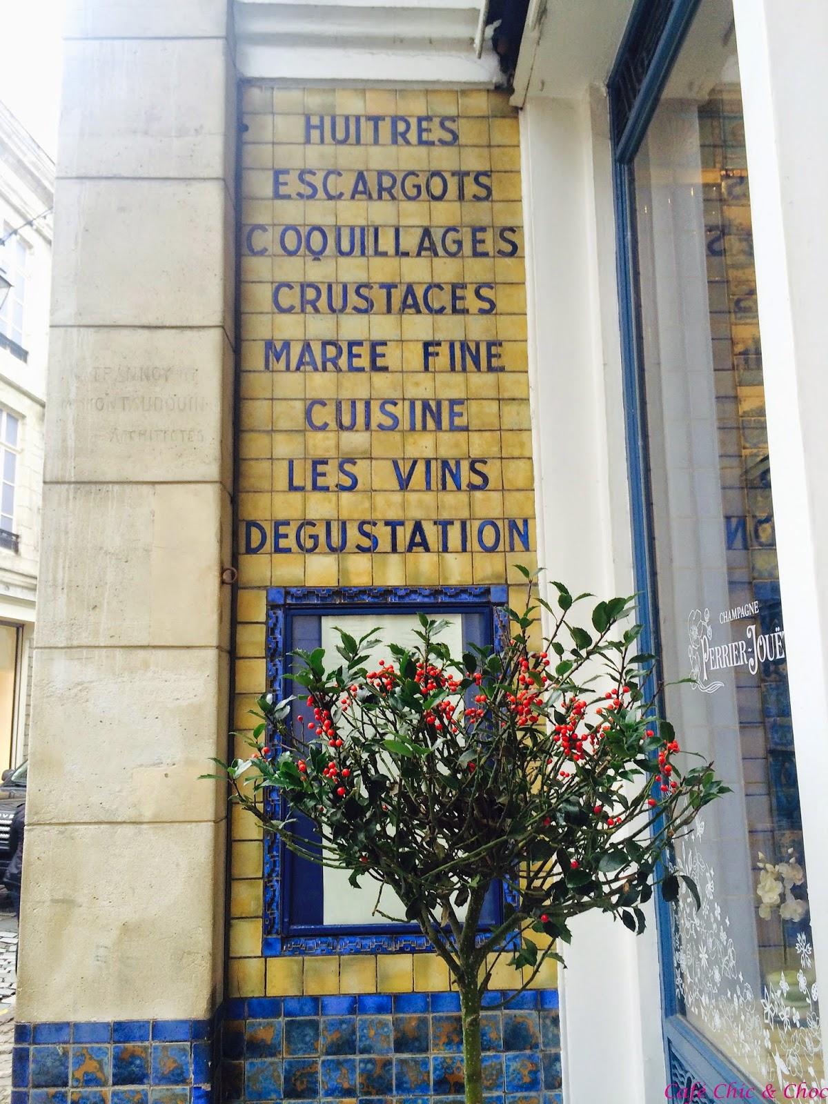 Cafe Chic & Choc Spacer po Lille francuskie miasta restauracja