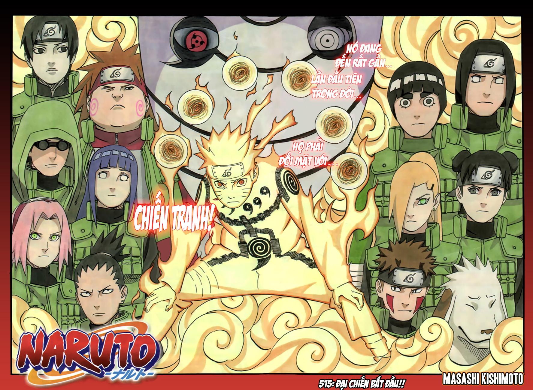 Naruto chap 515 Trang 3 - Mangak.info