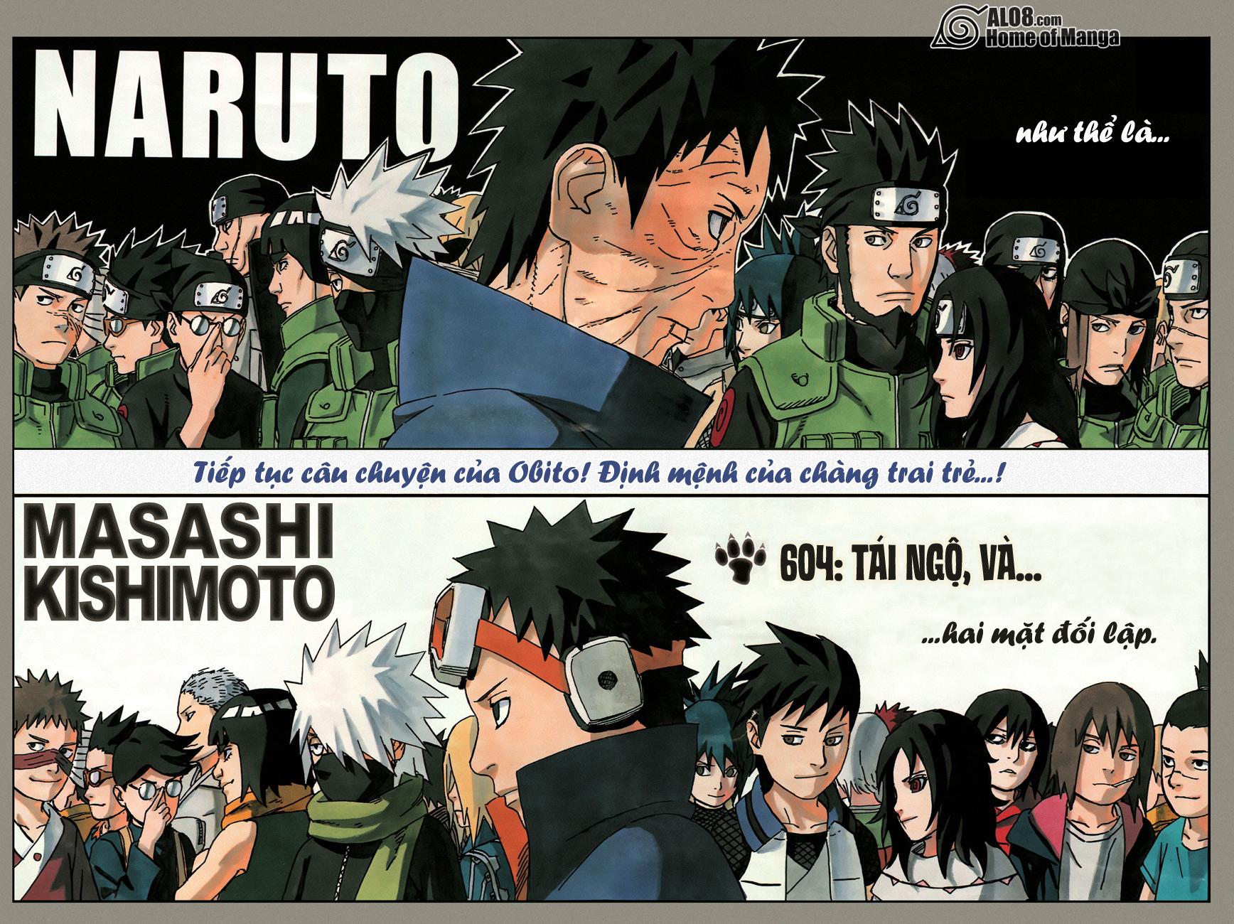 Naruto chap 604 Trang 3 - Mangak.info