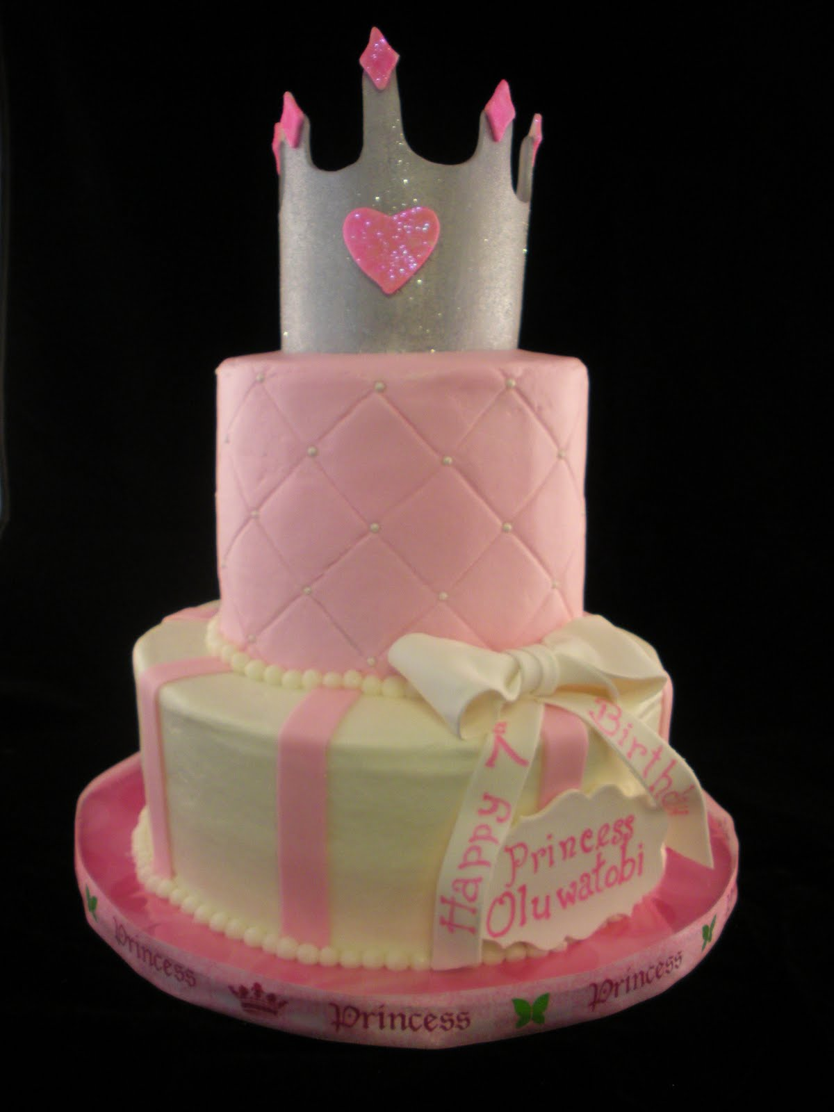 Princess Crown Cake Pictures : Sugar & Spice Sweets: Princess Crown Cake