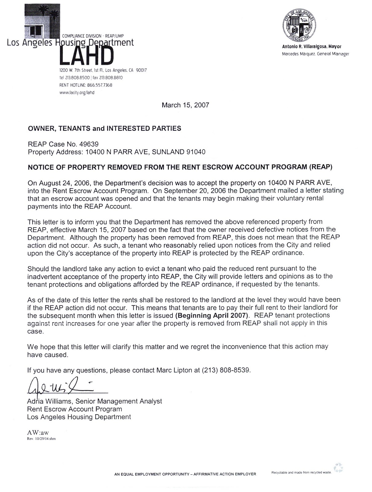 ZumaDogg REPORT TO FBI LA City Attorney Letter To