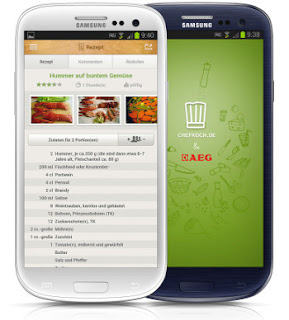 chefkochapp access recipe from android