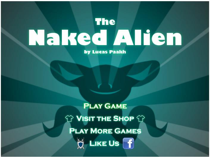 Armor Game : The Naked Alien