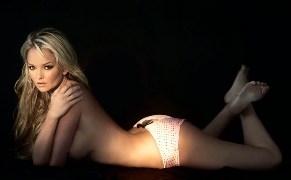Jennifer Ellison looking hot in white panties
