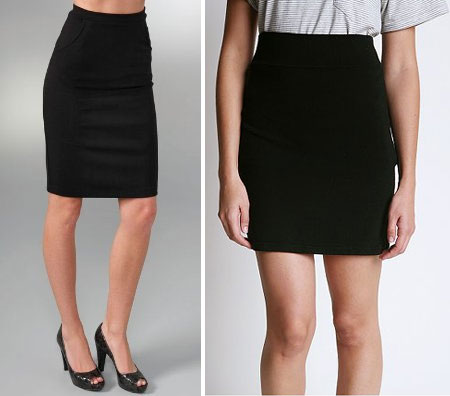 how to look good in a pencil skirt