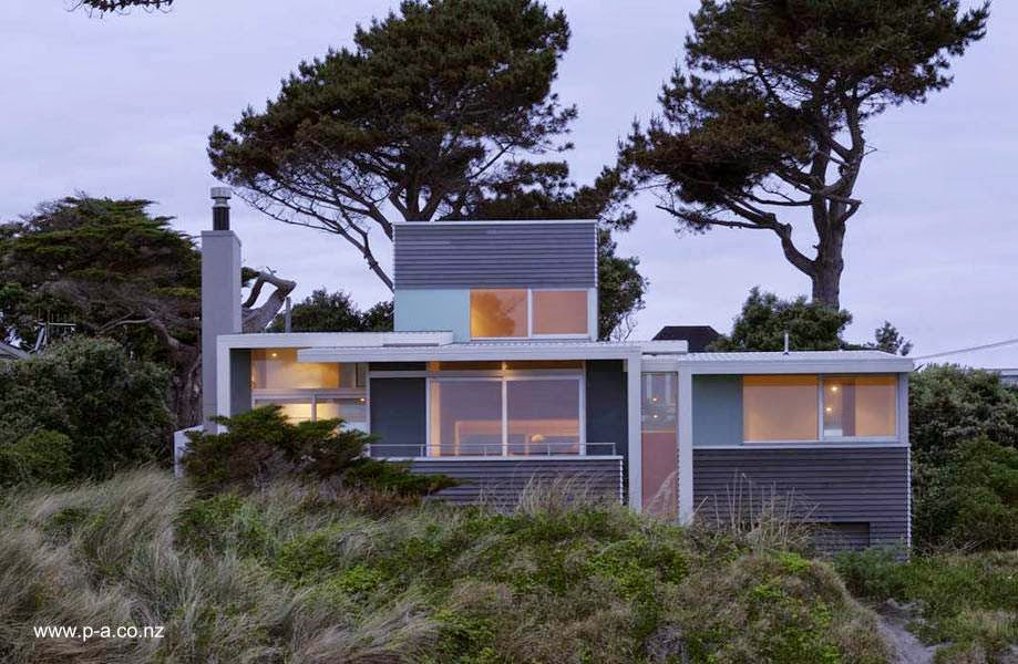 Estilos de casas modernas renderizado de un proyecto de for Casas modernas de campo
