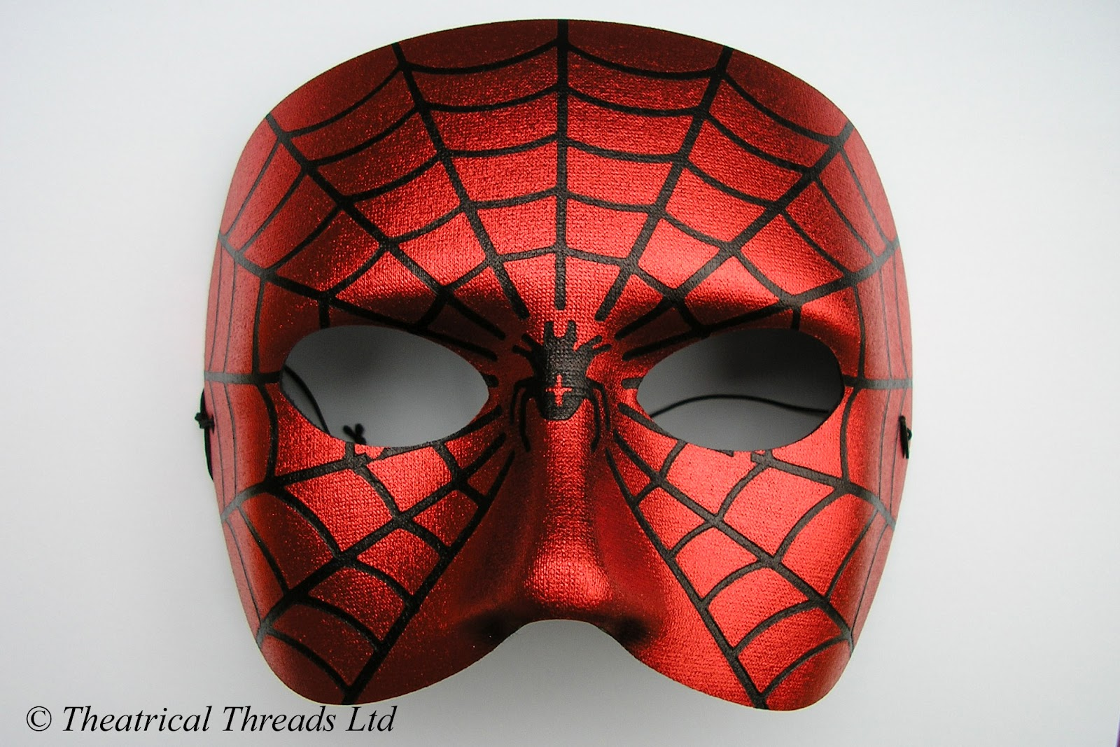 Spiderman italian masquerade ball halloween mask from theatrical