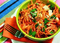 Salada de Cenoura e Cominho Tostado (vegana)
