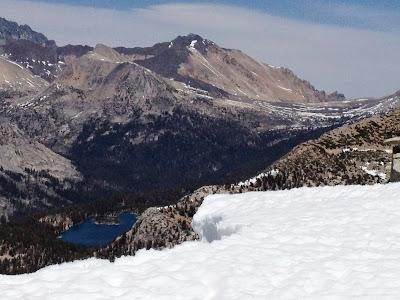 Bench Lake and Taboose Pass