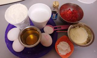 Tutti frutti tea cake with Milkpowder