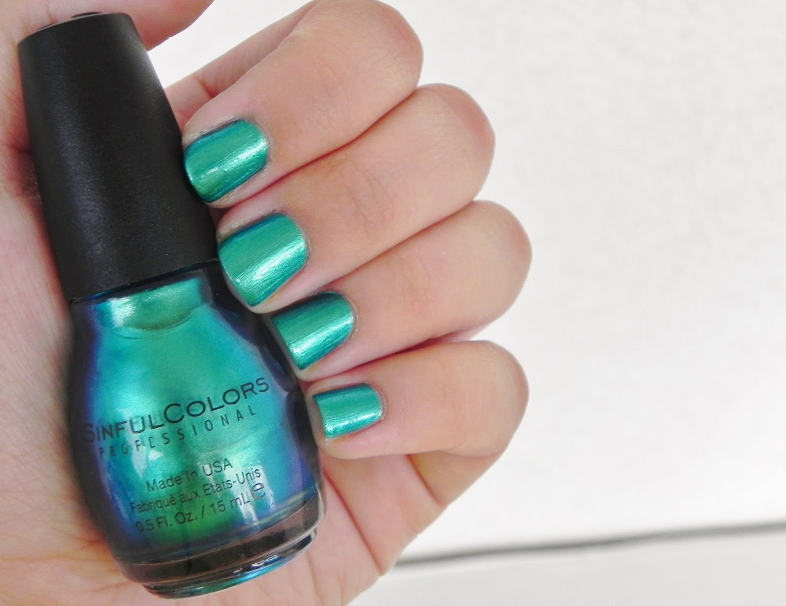 Notd Gorgeous Sinful Colors Nail Polish Swatch Review