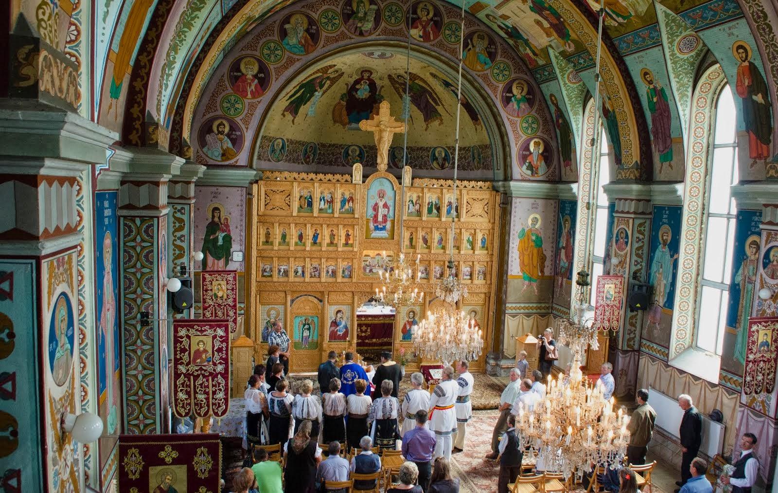Binecuvântarea primită la biserică