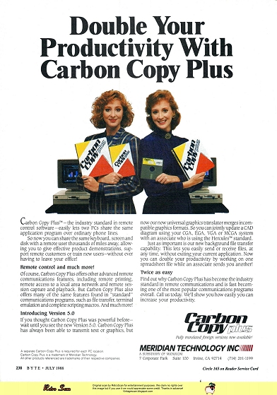 Carbon Copy Plus