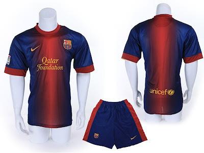 Kostum Home Barcelona 2012-2013