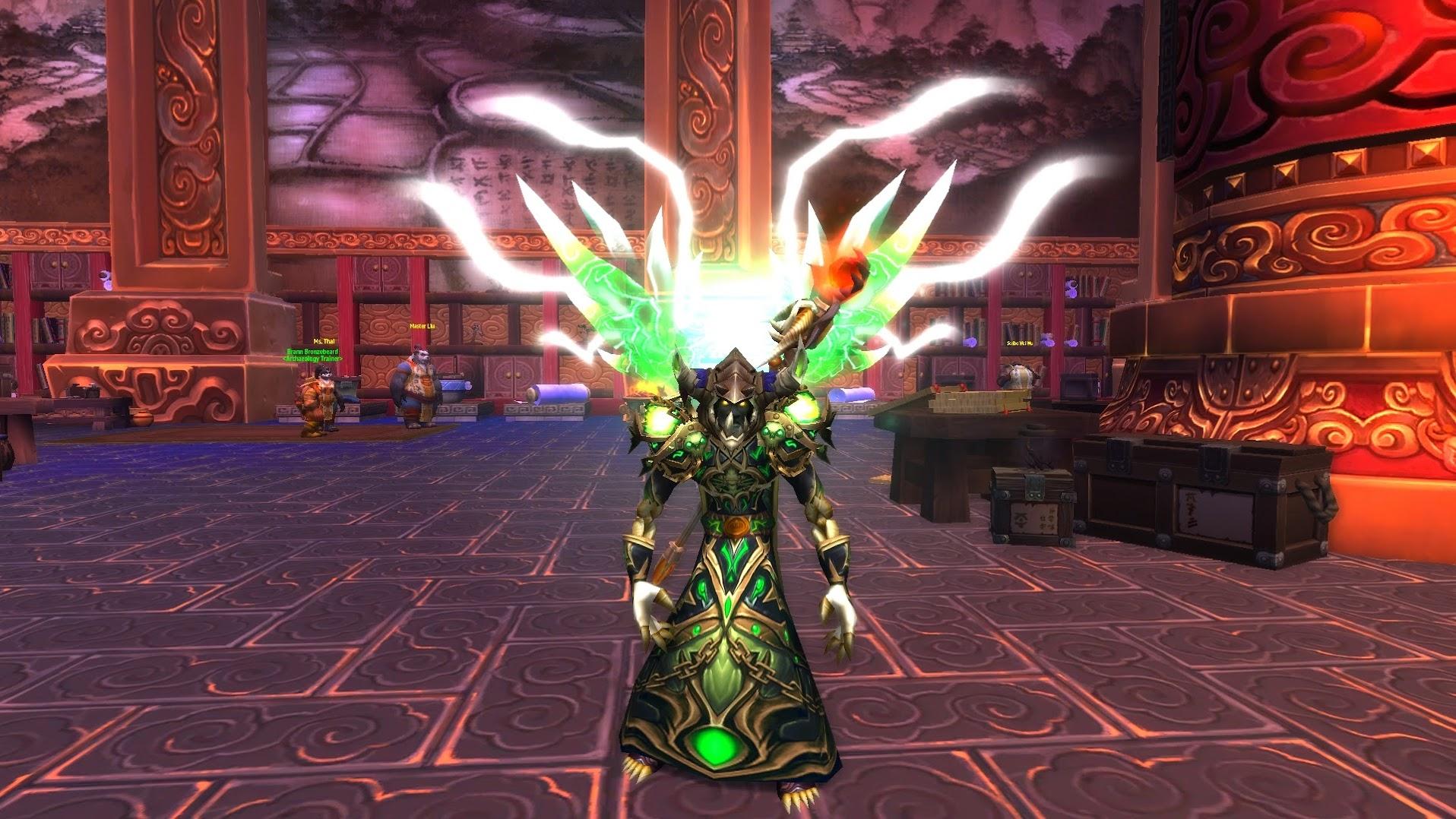 World of Warcraft Warlock Legendary Cloak