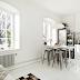 Sunny white Stockholm studio
