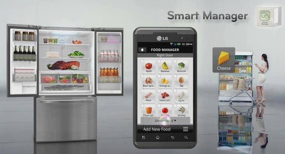 La nevera inteligente de lg y electrodomesticos del futuro - Frigorifico del futuro ...