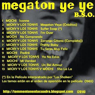 Micky Y Los Tonys - Sha-La / Ya No Estas