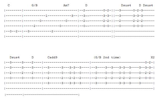 The Guitar Songs: Stairway to heaven Tab Part II