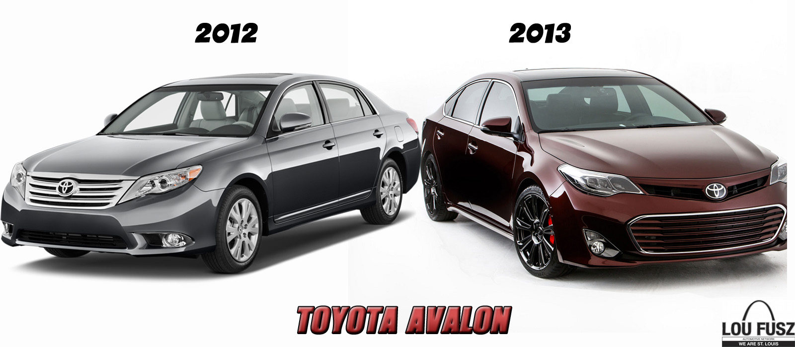 2012 Vs 2013 Toyota Avalon Why Quot Only The Name Remains